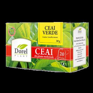 CEAI VERDE, 20 plicuri, Dorel Plant