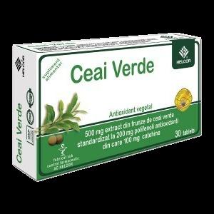 CEAI VERDE 30 comprimate, Ac Helcor