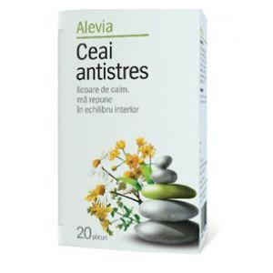 ANTISTRES, Ceai 20 plicuri, Alevia