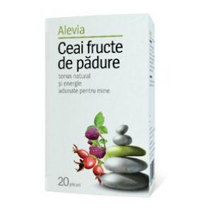 FRUCTE DE PADURE, Ceai 20 plicuri, Alevia