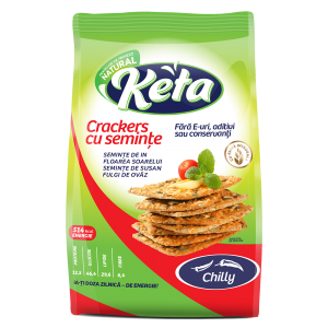 CRACKERS CU CHILLY 200 g, Keta