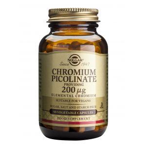 CHROMIUM PICOLINATE 200 µg, 90 capsule, Solgar