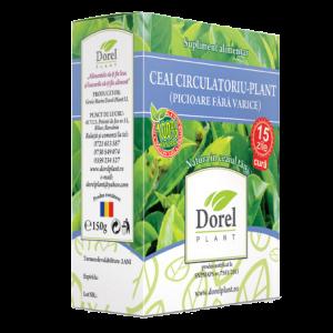 CIRCULATORIU PLANT (PICIOARE FARA VARICE), Ceai 150 g, Dorel Plant