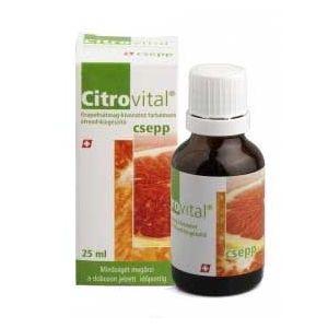 CITROVITAL PICATURI - EXTRACT DIN SEMINTE DE GRAPEFRUIT 25 ml, Herbavit