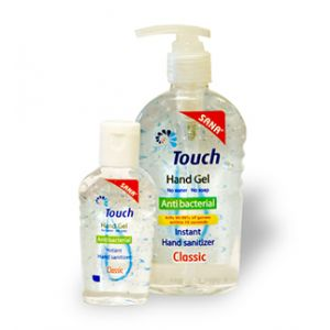 GEL DE MAINI ANTIBACTERIAN CLASIC 59 ml, Touch