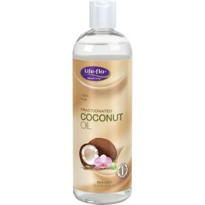 COCONUT FRACTIONATED OIL 473 ml, Life-flo