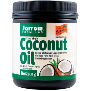 COCONUT OIL EXTRA VIRGIN 473 ml, Jarrow Formulas