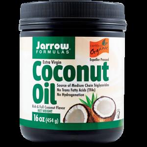 COCONUT OIL EXTRA VIRGIN 473 ml, Jarrow Formulas