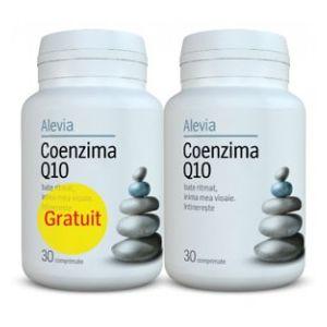 COENZIMA Q10 10 mg, 30+30 comprimate, Alevia
