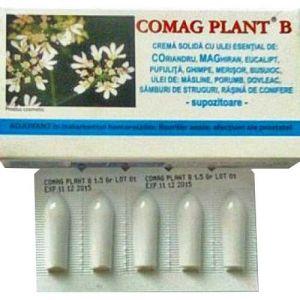 CREMA SOLIDA (SUPOZITOARE) - COMAG PLANT B, 10 buc x 1.5 g, Elzin Plant