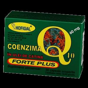COENZIMA Q10 IN ULEI DE CATINA FORTE PLUS 60 mg, 40 capsule moi, Hofigal