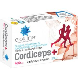 CORDICEPS + 400 mg, 30 comprimate, Ac Helcor
