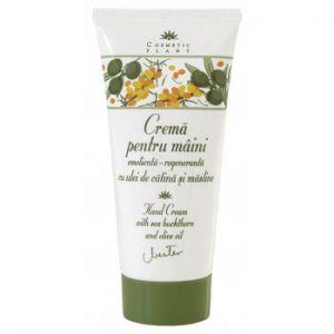 CREMA DE MAINI CU ULEI DE CATINA SI MASLINE 100 ml, Cosmetic Plant