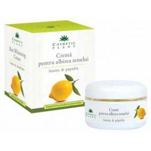 CREMA PENTRU ALBIREA TENULUI CU EXTRACT DE LAMAIE SI PAPADIE 50 ml, Cosmetic Plant