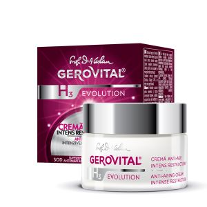 CREMA ANTI-AGE INTENS RESTRUCTURANTA - GEROVITAL H3 EVOLUTION 50 ml, Farmec