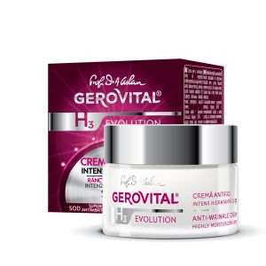 CREMA ANTIRID INTENS HIDRATANTA CU FP 10 - GEROVITAL H3 EVOLUTION 50 ml, Farmec