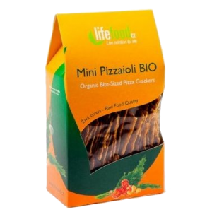 CRACKERS PIZZA RAW BIO 70 g, Lifefood