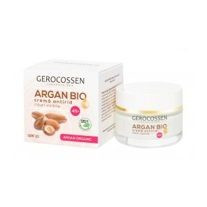 CREMA ANTIRID - RIDURI VIZIBILE 45+ ARGAN BIO 50 ml, Gerocossen