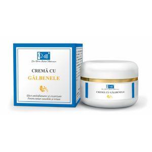 CREMA CU GALBENELE - Q4U, 50 ml, Tis Farmaceutic