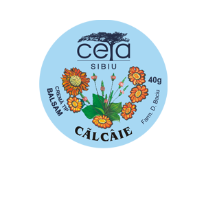 UNGUENT CALCAIE 40 g, Ceta Sibiu