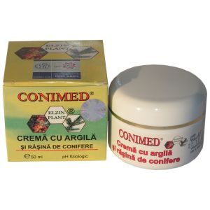 CREMA CU RASINA DE CONIFERE SI ARGILA - CONIMED, 50 ml, Elzin Plant
