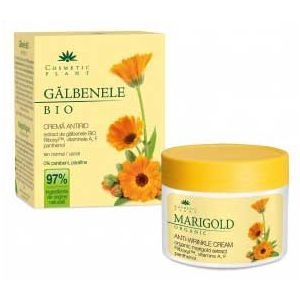 CREMA ANTIRID GALBENELE BIO CU RYBOXYL, VITAMINELE A, F SI PANTHENOL 50 ml, Cosmetic Plant