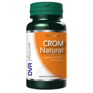 CROM NATURAL 60 capsule, DVR Pharm