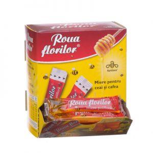 MIERE POLIFLORA PORTIONATA - ROUA FLORILOR, 50 Stickuri x 15 g, Apidava