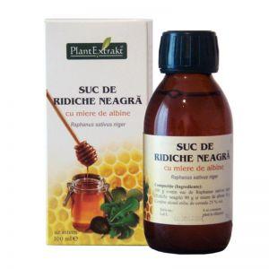 SUC DE RIDICHE NEAGRA CU MIERE DE ALBINE 100 ml, Plant Extrakt