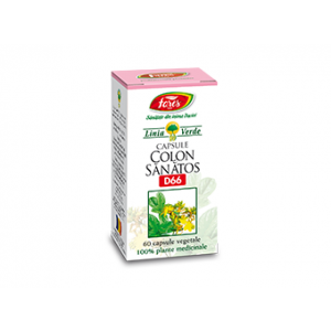COLON SANATOS D66, 60 capsule, Fares
