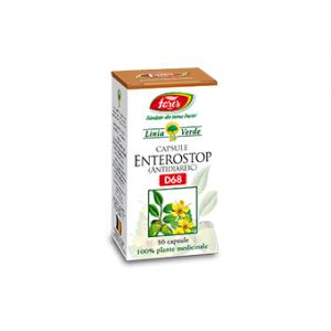 ENTEROSTOP (Antidiareic) D68, 30 capsule, Fares