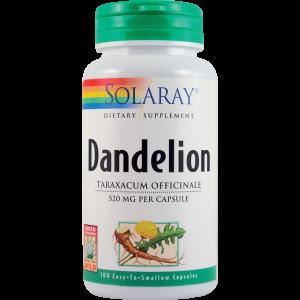 DANDELION ROOT (Papadie) 520 mg, 100 capsule, Solara