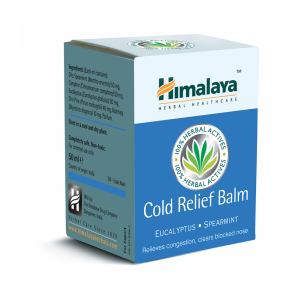 BALSAM DECONGESTIONAL NAZAL - COLD RELIEF BALM 50 g, Himalaya Herbals