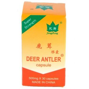 DEER ANTLER (PULBERE DIN CORN DE CERB) 500 mg, 30 capsule, Yong Kang