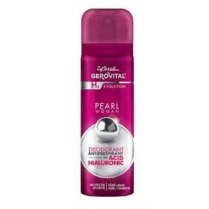 DEODORANT ANTIPERSPIRANT CU ACID HIALURONIC PEARL WOMAN - GEROVITAL H3 EVOLUTION 150 ml, Farmec