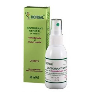 DEODORANT NATURAL, 50 ml, Hofigal