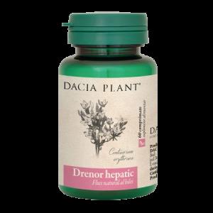 DRENOR HEPATIC 60 comprimate, Dacia Plant