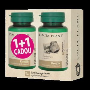 DROJDIE DE BERE 2 x 60 comprimate, 1+1 CADOU, Dacia Plant