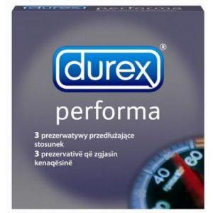 PREZERVATIVE PERFORMA 3 buc, Durex