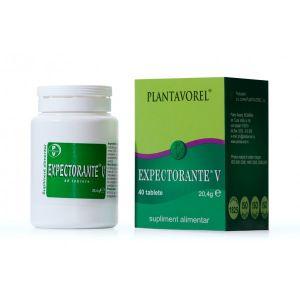 EXPECTORANTE V 40 tablete, Plantavorel