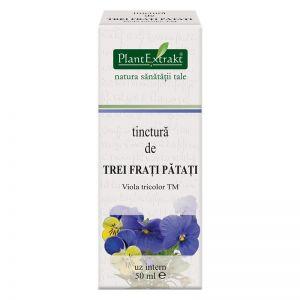 TREI FRATI PATATI - Viola Tricolor, Tinctura 50 ml, Plant Extrakt