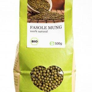 FASOLE MUNG BIO 500 g, Longevita