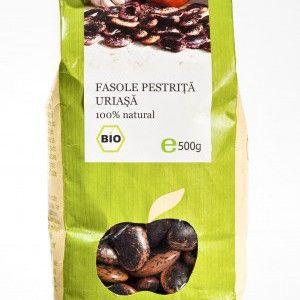 FASOLE PESTRITA URIASA BIO 500 g, Longevita