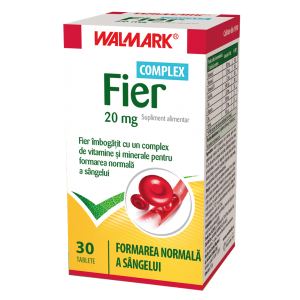 FIER 20 mg COMPLEX, 30 tablete, Walmark