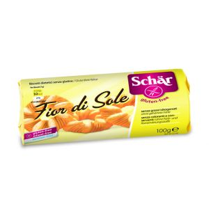 BISCUITI FARA GLUTEN - FLORI DI SOLE 100 g, Dr. Schar