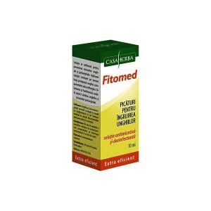 FITOMED - Picaturi pentru ingrijirea unghiilor, 10 ml, Casaherba