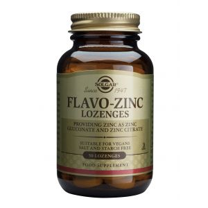 FLAVO ZINC 23 mg, 50 tablete, Solgar
