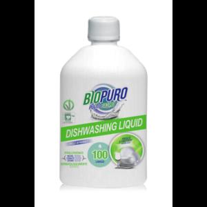 DETERGENT LICHID PENTRU VASE HIPOALERGEN BIO 500 ml, Biopuro