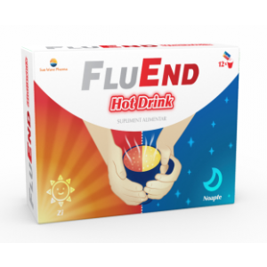 FLUEND HOT DRINK 12 plicuri, Sun Wave Pharma