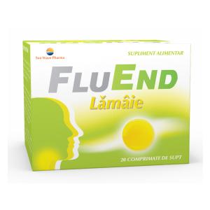 FLUEND LAMAIE 20 comprimate de supt, Sun Wave Pharma